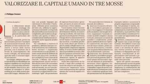 Tre passi per valorizzare il capitale umano